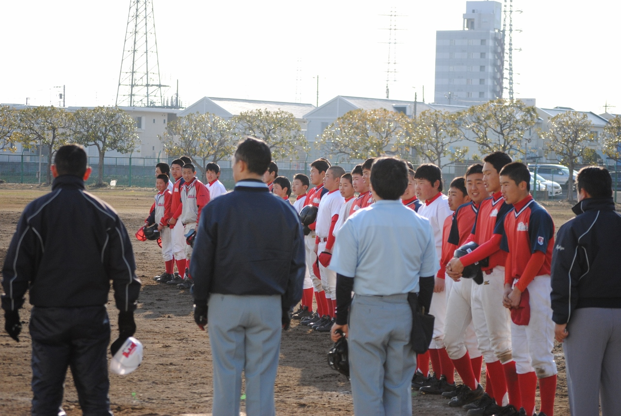 川崎ボーイズとオープン戦
