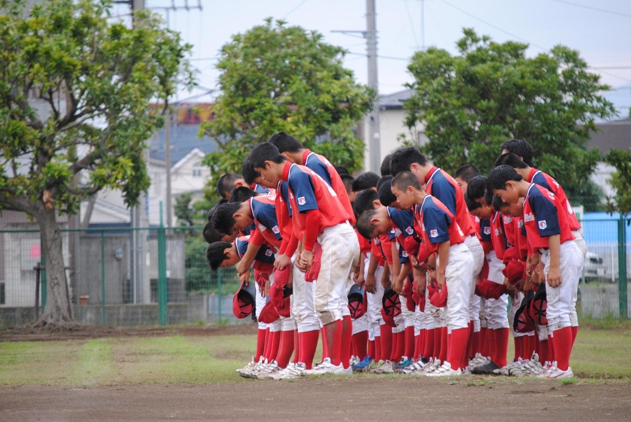 横浜山手ボーイズとオープン戦