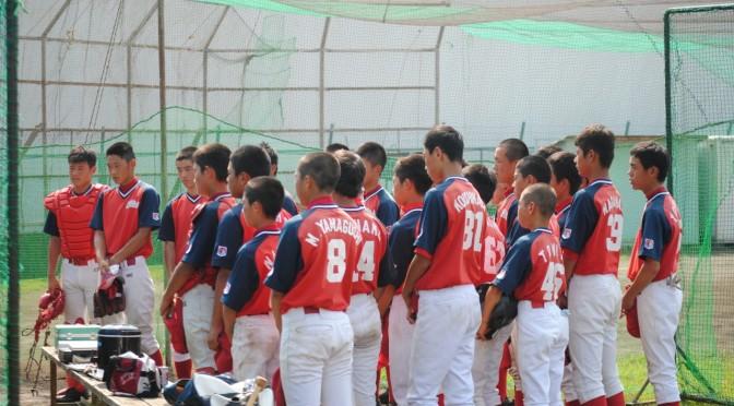 湘南茅ヶ崎ボーイズとオープン戦