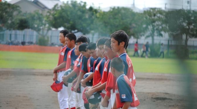 第11回 厚木大会 第1回戦 vs 横浜北都ボーイズ