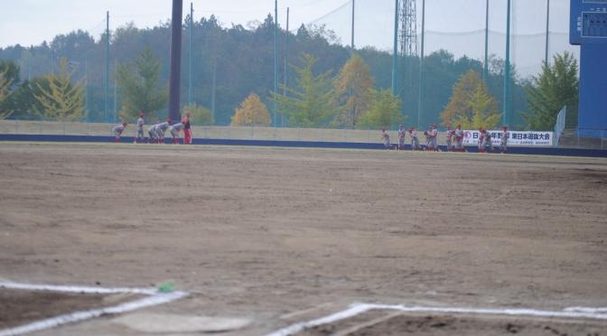 第26回 東日本選抜大会 第2回戦 vs 松戸中央ボーイズ