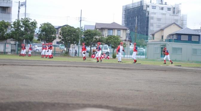 町田ボーイズとオープン戦