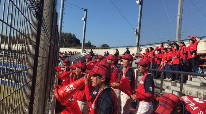第12回 日本少年野球 神奈川県支部1年生大会 1回戦 対 相模ボーイズ