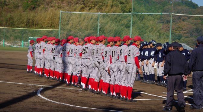 第19回 白幡杯 中学硬式野球親善大会 対 浜松リトルシニア