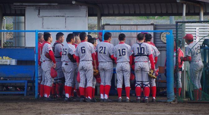 第19回 白幡杯 中学硬式野球親善大会 対 横浜南ボーイズ
