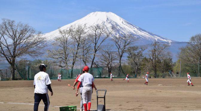平塚ボーイズ 春季合宿@山中湖(2日目)