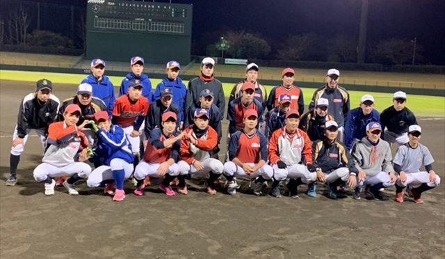 3年生 合同練習 in 伊勢原球場